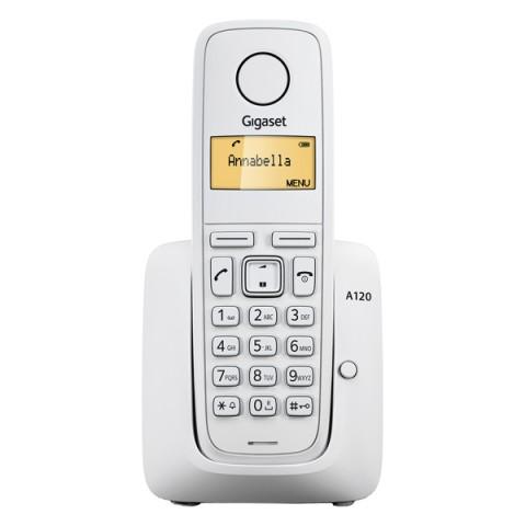 Фотография товара телефон DECT Gigaset A120 White (30021818)