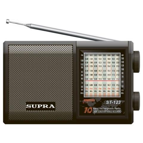 Фотография товара радиоприемник Supra ST-123 (30022255)