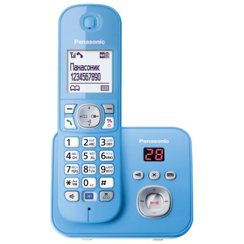 Фотография товара телефон DECT Panasonic KX-TG6821RUF (30023927)
