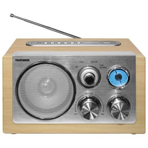 Фотография товара радиоприемник Telefunken TF-1638U Light Wood (30025599)