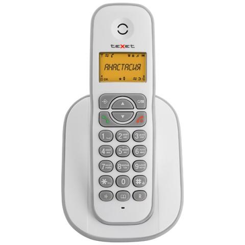 Фотография товара телефон DECT teXet ТХ-D4505A White/Grey (30027503)