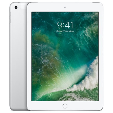 Фотография товара планшет Apple iPad 32GB Wi-Fi + Cellular Silver (MP1L2RU/A) (30027849)