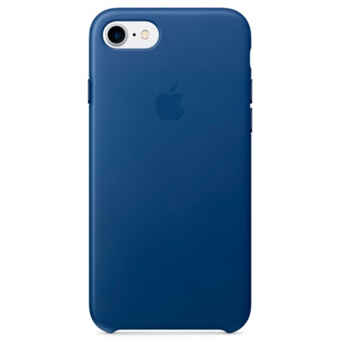 Фотография товара чехол для iPhone Apple iPhone 7 Leather Case Sapphire (MPT92ZM/A) (30027870)