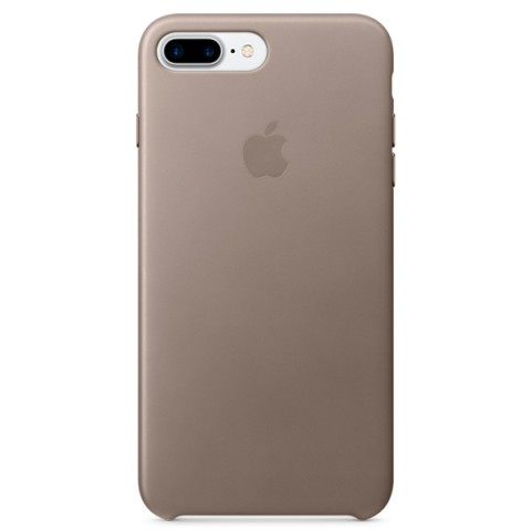 Фотография товара чехол для iPhone Apple iPhone 7 Plus Leather Case Taupe (MPTC2ZM/A) (30027871)