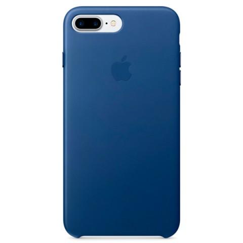 Фотография товара чехол для iPhone Apple iPhone 7 Plus Leather Case Sapphire (MPTF2ZM/A) (30027872)
