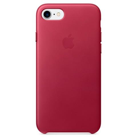 Фотография товара чехол для iPhone Apple iPhone 7 Leather Case Berry (MPVG2ZM/A) (30027873)