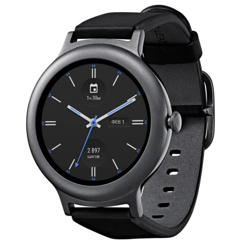 Фотография товара смарт-часы LG Watch Style Titan W270 (30027981)