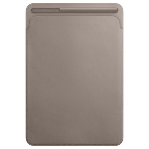 Фотография товара кейс для iPad Pro Apple Leather Sleeve iPad Pro 10.5 Taupe (MPU02ZM/A) (30028709)