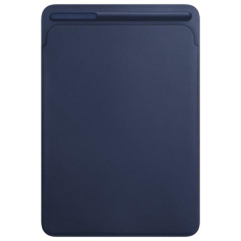 Фотография товара кейс для iPad Pro Apple Leather Sleeve iPad Pro 10.5 Midnight Blue (30028761)