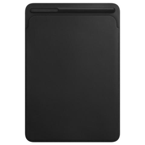Фотография товара кейс для iPad Pro Apple Leather Sleeve iPad Pro 10.5 Black (MPU62ZM/A) (30028762)