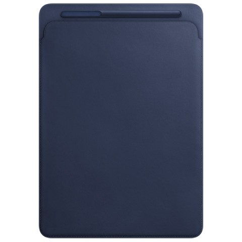 Фотография товара кейс для iPad Pro Apple Leather Sleeve iPad Pro 12.9 Midnight Blue (30028776)