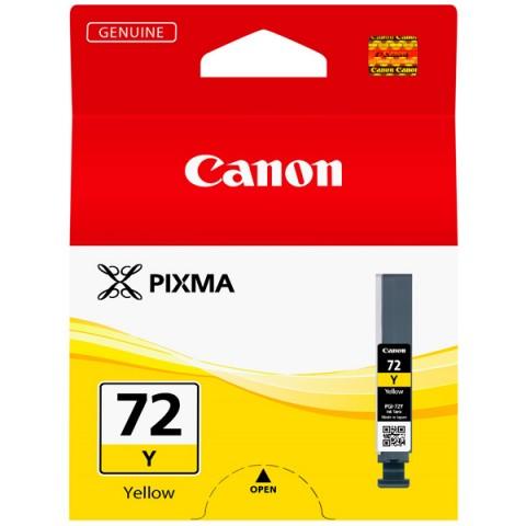 Фотография товара картридж для струйного принтера Canon PGI-72 Y (30029554)