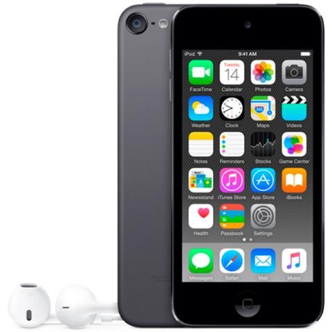 Фотография товара плеер MP3 Apple iPod Touch 128Gb Space Grey (MKWU2RU/A) (30029859)
