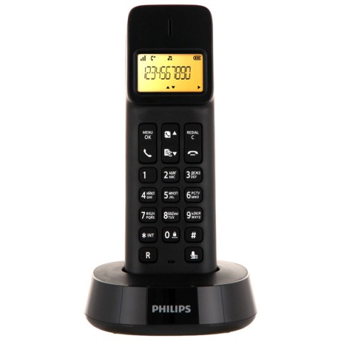 Фотография товара телефон DECT Philips D1401B/51 (30030103)