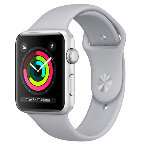 Фотография товара смарт-часы Apple Watch S3 Sport 38mm Silver Al/Fog Band MQKU2RU/A (30030147D)