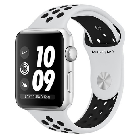 Фотография товара смарт-часы Apple Watch Nike+ 42mm Silver Al/Bl Nike Band MQL32RU/A (30030247D)