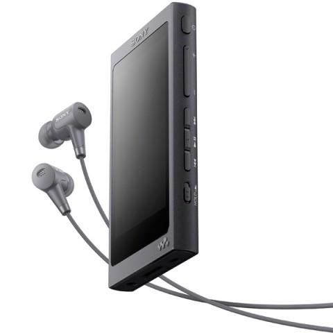 Фотография товара портативный медиаплеер премиум Sony Walkman NW-A45HN/BM, 16Gb, Grayish Black (30031095)