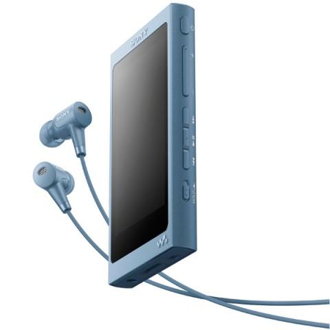 Фотография товара портативный медиаплеер премиум Sony Walkman NW-A45HN/LM, 16Gb, Moonlit Blue (30031097)