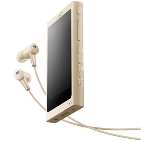 Фотография товара портативный медиаплеер премиум Sony Walkman NW-A45HN/NM, 16Gb, Pale Gold (30031098)