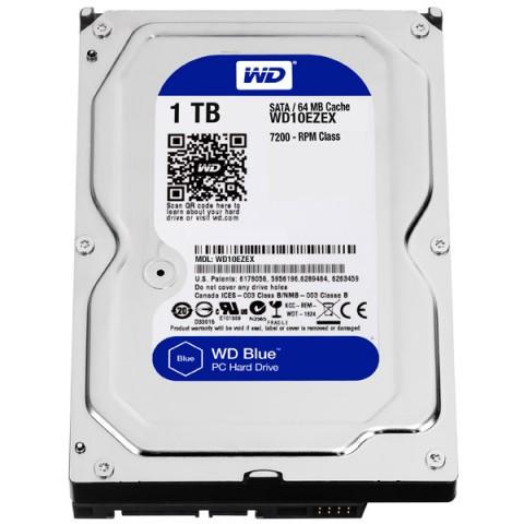 Фотография товара жесткий диск WD 1TB Blue (WD10EZEX) (30031628D)
