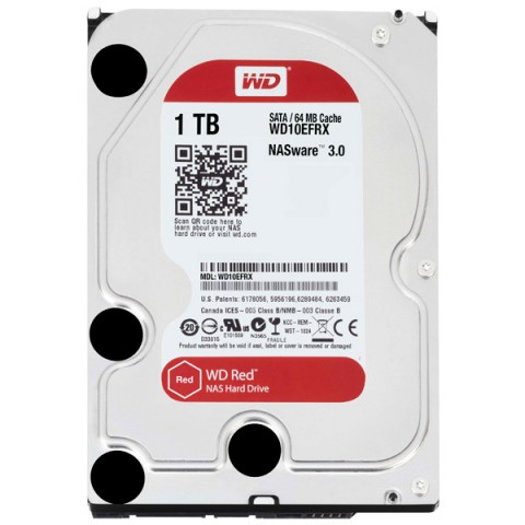 Фотография товара жесткий диск WD 1TB Red (WD10EFRX) (30031730)
