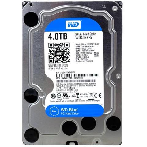 Фотография товара жесткий диск WD 4TB Blue (WD40EZRZ) (30031736)
