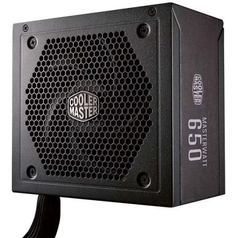 Фотография товара блок питания для компьютера Cooler Master MasterWatt 650 (MPX-6501-AMAAB-EU) (30031994)