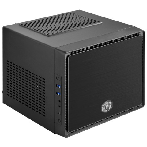 Фотография товара корпус для компьютера Cooler Master Elite 110 Black BRUSHED (RC-110A-KKN1) (30032044)