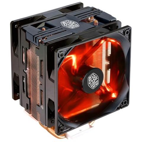 Фотография товара кулер для процессора Cooler Master Hyper 212 LED Turbo BlackCover (RR-212TK-16PR-R1) (30032050)