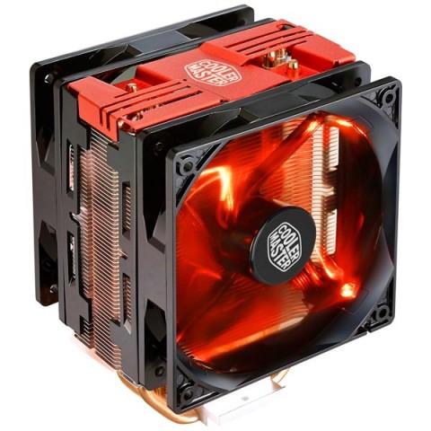 Фотография товара кулер для процессора Cooler Master Hyper 212 LED Turbo Red Cover (RR-212TR-16PR-R1) (30032051)