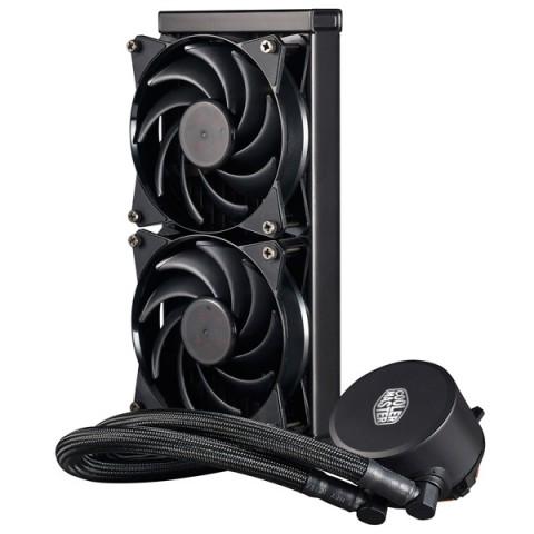 Фотография товара кулер для процессора Cooler Master MasterLiquid 240 (MLX-D24M-A20PW-R1) (30032069)