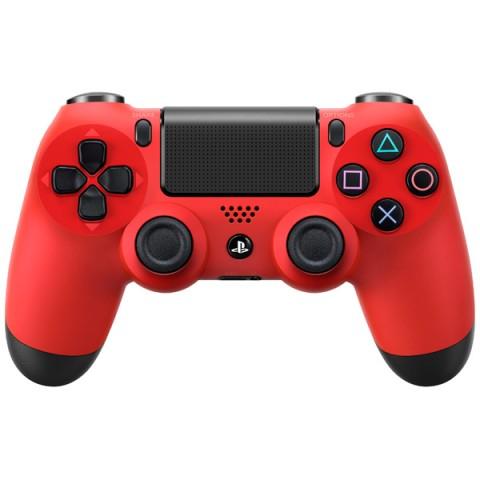 Фотография товара аксессуар для игровой консоли PlayStation 4 Dualshock 4 красная лава (CUH-ZCT1E) (40061989)