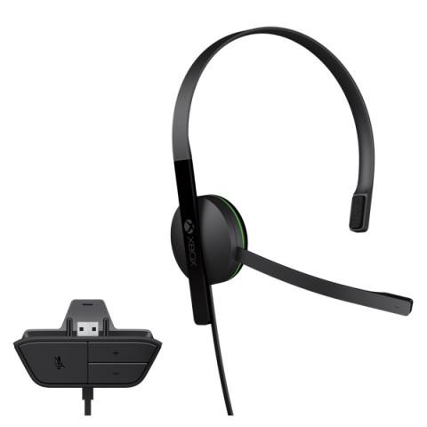 Фотография товара аксессуар для игровой консоли Microsoft Chat Headset (S5V-00012) (40062968)