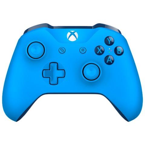 Фотография товара аксессуар для игровой консоли Microsoft беспроводной геймпад синий (WL3-00020) (40065552)