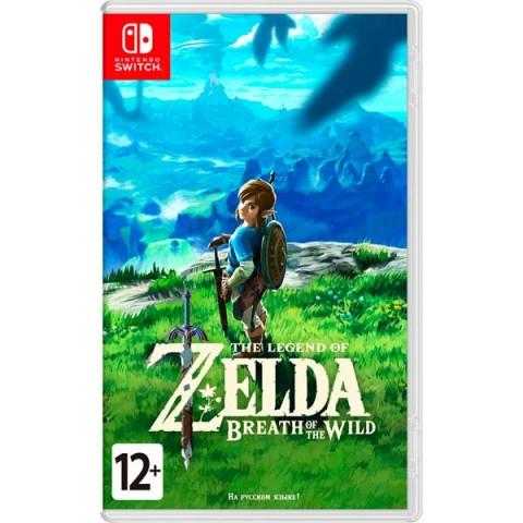 Фотография товара игра для Nintendo The Legend of Zelda: Breath of the Wild (40065744)