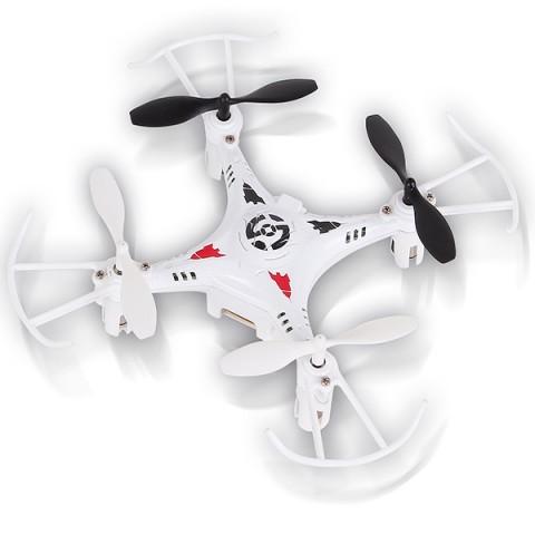 Фотография товара радиоуправляемый квадрокоптер Mioshi 3D Мини-дрон-11, 11 см, белый (MTE1209-022) (40066079)