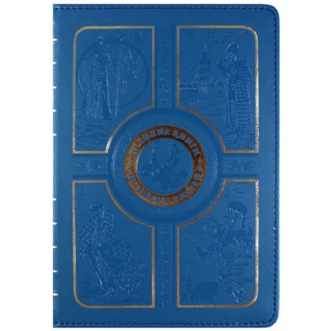 """Фотография товара чехол для электронной книги Vivacase Book Blue универсальный 6"""" (VUC-CBK04-B) (40066153)"""