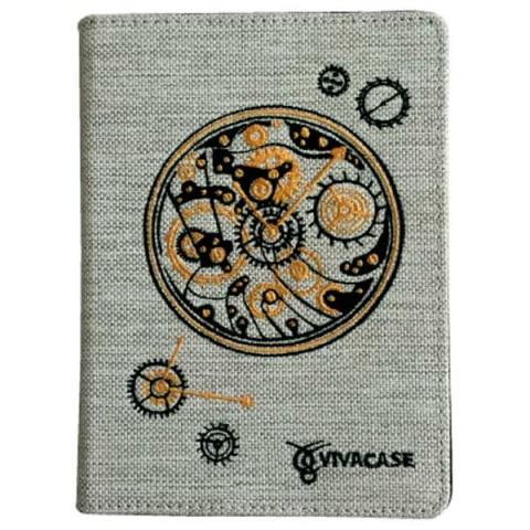 """Фотография товара чехол для электронной книги Vivacase Сlockwork White универсальный 6"""" (VUC-CCW06-W) (40066155)"""