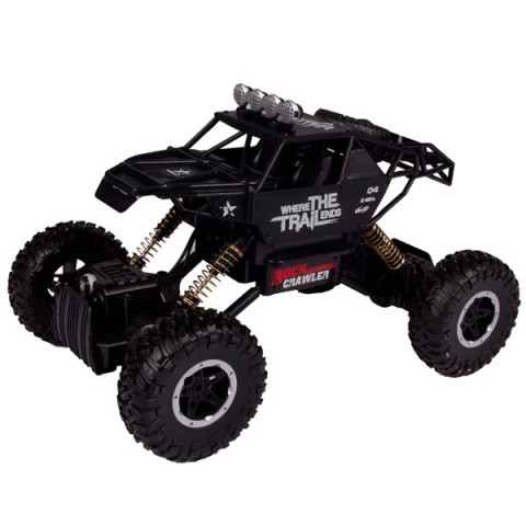 Фотография товара радиоуправляемая машина Blue Sea Metal Rock crawler, 1:14, 4WD черный (40066367)