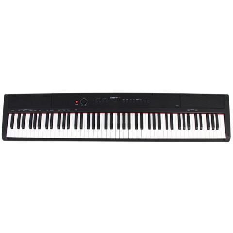 Фотография товара синтезатор Denn компактное пианино PRO PW01 BK (40066426)