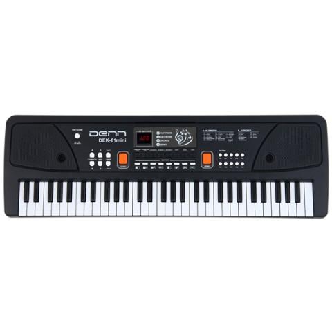 Фотография товара синтезатор Denn DEK61 mini (40066459)