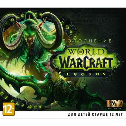 Фотография товара видеоигра для PC+ . World of Warcraft: Legion (дополнение) (40066509)