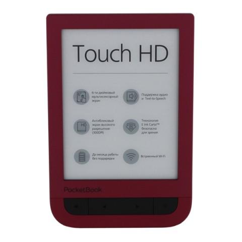 Фотография товара электронная Книга PocketBook 631 Ruby Red (40066691)