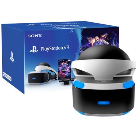 Фотография товара аксессуар для игровой консоли PlayStation 4 Шлем + камера + VR Worlds (CUH-ZVR1) (40066914)