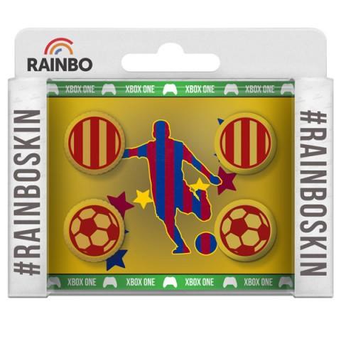 Фотография товара аксессуар для игровой консоли Rainbo Накладки на стики для геймпада Барселона (40067146)
