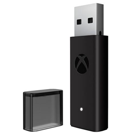 Фотография товара аксессуар для игровой консоли Microsoft Беспроводной адаптер геймпада Xbox д/Windows 10 (40067149)