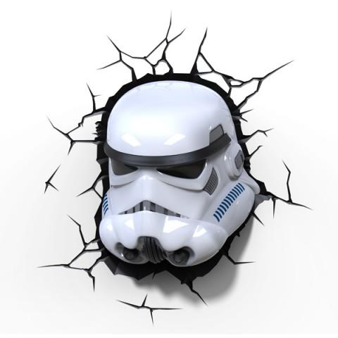 Фотография товара фигурка 3DLightFX Светильник 3D Star Wars Storm Trooper (40067521)