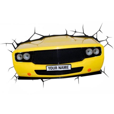 Фотография товара фигурка 3DLightFX Светильник 3D Muscle Car (40067523)