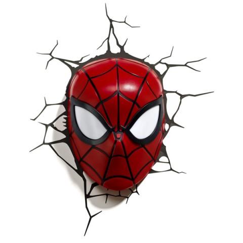 Фотография товара фигурка 3DLightFX Светильник 3D Spiderman Mask (40067527)