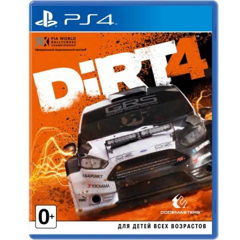 Фотография товара видеоигра для PS4 . Dirt 4 (40067618)